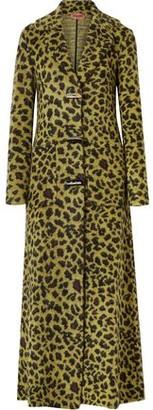Missoni Leopard-print Knitted Coat