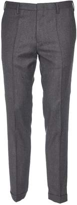 Paul Smith Grey Trousers With Side Slash Pocket