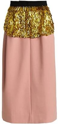 Rachel Comey Tuscala Sequin Midi Skirt