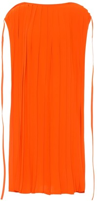 MM6 MAISON MARGIELA Pleated jersey dress