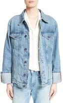 Frame Women's Le Oversized Denim Jacket