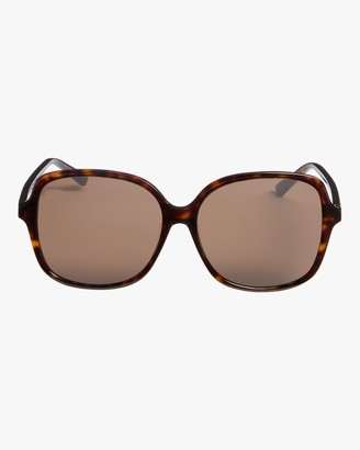 Bottega Veneta Square Oversized Sunglasses