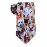 Asstd National Brand American Traditions Dog Camo Tie