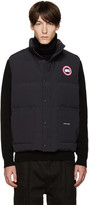 Canada Goose Navy Down Freestyle Vest