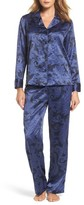 Lauren Ralph Lauren Women's Print Satin Pajamas