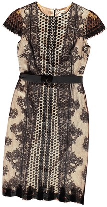 Collette Dinnigan Black Lace Dress for Women