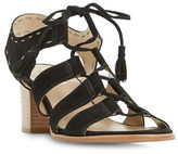 Dune London Ivanna Ghillie Lace Leather Sandals