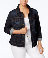 KUT from the Kloth Plus Size Helena Denim Jacket