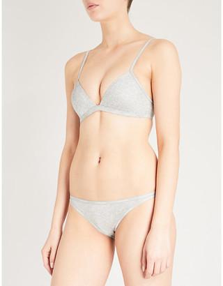 Calvin Klein Triangle microfibre bra