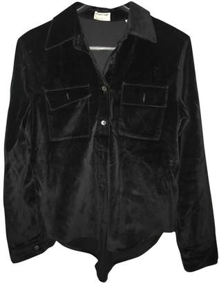 Helmut Lang Black Velvet Jackets