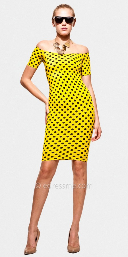 Polka Dot Cocktail Dresses by Rue 107