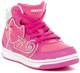 Geox Creamy High Top Sneaker (Toddler & Little Kid)