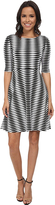 Donna Morgan D2074M Wavey Jersey Knit Dress