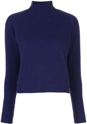 The Elder Statesman Cropped Cashmere Jumper