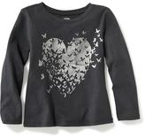 Old Navy Long-Sleeve Graphic Tee for Toddler