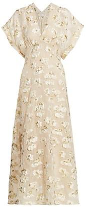 Rachel Comey Floral Pint Maxi Dress