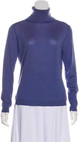 148 Wool Long Sleeve Turtleneck