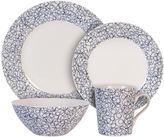 Maxwell & Williams Maxwell & WilliamsTM Free 4-Piece Place Setting in Indigo/White