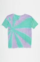 Flowers by Zoe Tie Dye Top (Big Girls) Purple 8