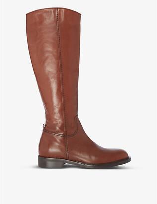 Dune Tillsie knee-high leather boots