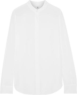 Iris & Ink Sakura Silk Crepe De Chine Shirt