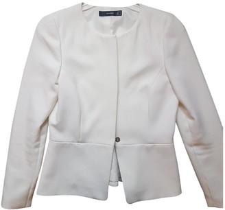 Hallhuber White Jacket for Women