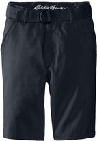 Eddie Bauer Big Boys Twill Shorts with Back Flap Pockets