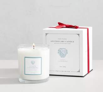 Pottery Barn Apothecary Scented Candle - Linen Cashmere