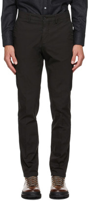 Dunhill Black Poplin Chino Trousers