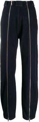 Katharine Hamnett High Rise Zipper Jeans