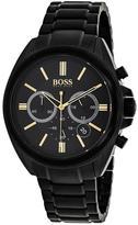 HUGO BOSS Classic 1513277 Men's Black Stainless Steel Chronograph Watch