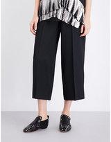 Jil Sander Baldo wide-leg stretch-crepe trousers