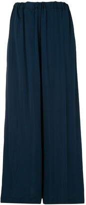 Rosetta Getty Flared Elasticated Waist Trousers