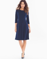 Soma Intimates Simone Fit and Flare Dress Sapphire