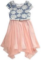 Sweet Heart Rose Daisy Dress, Little Girls (2-6X)