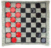 Reversible Checkers Rug Game