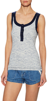 Free People Time Out Cotton Tank Top