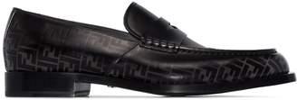 Fendi FF motif slip-on loafers