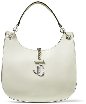 Jimmy Choo Medium Leather Varenne Hobo Bag