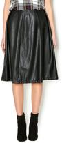 Lumier Vegan Leather Skirt