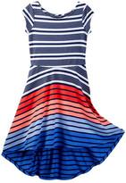 Tommy Hilfiger Hi Low Dress (Big Girls)