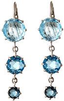 anzie Sterling Silver & Blue Graduated Earrings