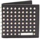 Alexander McQueen Studded bi-fold leather wallet