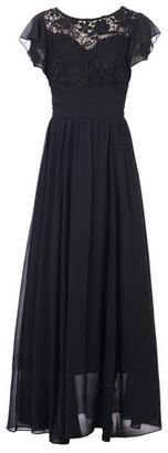 Dorothy Perkins Womens Jolie Moi Black Crochet Maxi Dress, Black
