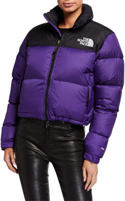 The North Face Nuptse Crop Jacket
