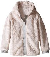 Stella McCartney Treasure Faux Fur Hooded Jacket Girl's Coat