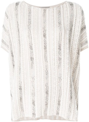 Ermanno Scervino oversized slouchy T-shirt