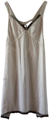 R 13 White Silk Dress for Women