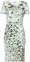Roberto Cavalli print fitted shift dress