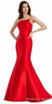 Morrell Maxie Strapless Mikado Mermaid Dress
